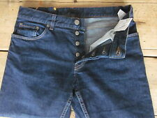 AUTHENTIC PRADA JEANS (32x29) 99% COTTON BUTTON-FLY CLASSIC/STRAIGHT BUTTON-FLY