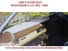 DASH MAT, GREY DASHMAT FIT  MITSUBISHI  VAN  L300  1982 - 1985, GREY