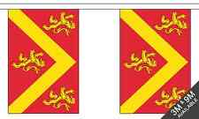 Anglesey British County 3 metre long, 10 flag bunting