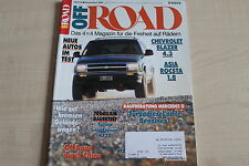 164641) Chevrolet Blazer 4.3 + Asia Rocsta 1.8 im TEST - OFF Road 12/1994