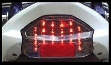 SUZUKI GSX1400 CLEAR LED TAIL LIGHT GSX 1400 GSX14 (E MARKED ROAD LEGAL)