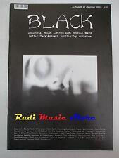 BLACK MAGAZINE 32/2003 In The Nursery Scream Silence Type O Negative Elend No*cd