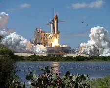 SPACE SHUTTLE ATLANTIS STS-66 LAUNCH NASA 8x10 PHOTO