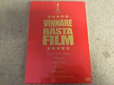 * NEW DVD OSCAR WINNING FILMS BOXSET * TITANIC BRAVEHEART RAIN MAIN, ETC 6 FILMS