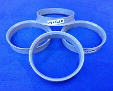 (1001) 4 Stück Zentrierringe 57,1 / 54,1 mm grau für Alufelgen