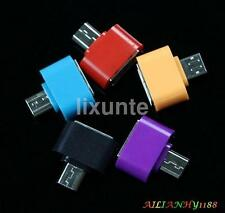 2PC Micro USB Male to USB 2.0 Adapter OTG Converter For Android Tablet Phone d