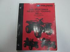 2008 Polaris Sportsman 500 EFI X2 Touring 500 H.O. Service Shop Manual NEW