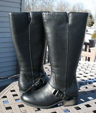 UGG~Womans Riding Equestrian Boots~DAHLEN~US 8~EU 39~Black~NEW~Waterproof