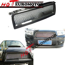 Carbon Fiber For Subaru Forester 2006 07 2008 Front Sport Mesh Grille STI Style
