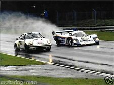 ROTHMANS PORSCHE 930 956 TOUROUL ICKX MASS WET PHOTOGRAPH 1983 1000KM BRANDS