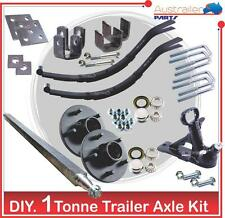 DIY trailer 1000 kg  kit 40MM Square Axle Trailer Parts KIT 1 Tonne