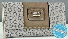 Guess Choice Modern Ladies Wallet Lockport Mocha Women Purse SLG