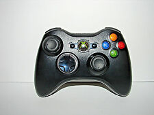 Official Genuine Microsoft xbox 360 Wireless Controller (Glossy Black) *NICE*