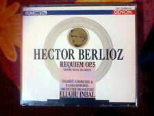 HECTOR BERLIOZ: REQUIEM 2CD FRANKFURT RADIO ORCH. INBAL ON DENON LABEL RARE