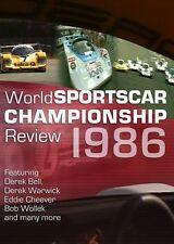 World Sportscar Championship Review 1986 (New DVD)  Le Mans Silverstone Spa