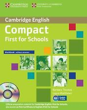 Compact First for Schools Workbook without Answers with Audio CD, , New conditio