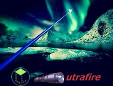 Powerful Blue Beam Laser Pointer Adjustable  Lighter Burning Reach Star Beam