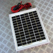 5 WATT SOLAR BATTERY SAVER PANEL WINTER STORAGE CIGAR PLUG IN 12V + 2.5M  5W