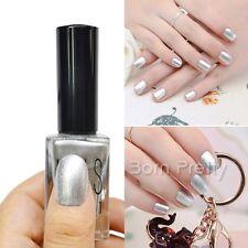 15ml Shimmer Silver Nail Polish Nail Enamel Nail Art Painting Varnish Tool