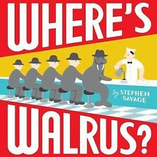 Where's Walrus? by Stephen Savage (2011, Hardcover)