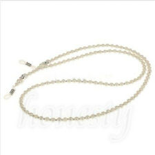 Imitation White Pearls Bead Chain Strap Cord for Spectacles Glasses Eyeglasses