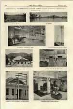 Fresno California transmisión eléctrica 1897 alimentación Sperry Molino de harina de agua
