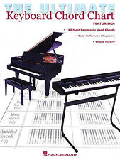 The Ultimate Keyboard Chord Chart Learn to Play Piano Organ Music Book