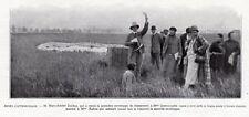 SAINT CLOUD PARC RALLYE BALLON FEMININ QUENNOUELLE RAHNA IMAGE 1926 OLD PRINT