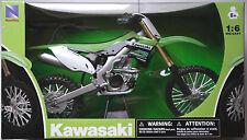 NewRay - Kawasaki KX450F 2012 grün 1:6 Neu/OVP Moto Cross Motorrad-Modell