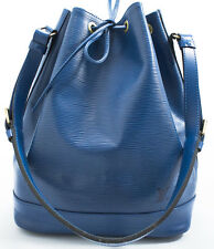 Louis Vuitton EPI NOE Bag Tasche Groß Blue Blau Elegant n Zeitlos Model SUPER L