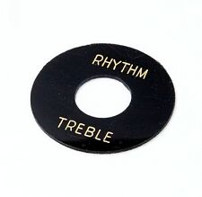 59 LPC Toggle Plate - Black - Plain - Montreux Time Machine Collection