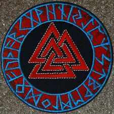 ZOMBIE HUNTER TACTICAL: VALKNUT VIKING WARRIOR RUNE PATCH W VELCRO ~ RAGNAR