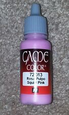 Vallejo Paint Game Color Squid Pink 72013 Eye Dropper Bottle 17ml