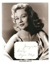 Virginia Mayo Autograph The Best Years of Our Lives Jack London Girl Next Door 2