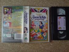 WALT DISNEY CLASSICS - SNOW WHITE AND THE SEVEN DWAFS - VHS NO 2