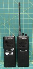 Lot of 2 Motorola Radius P1225 Handi-Talkie Radios P94ZRC90A2AA No Batteries