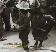"""MOUNTAIN MUSIC OF PERU Volume 2"" ii (CD 1994, Smithsonian Folkways) GREAT SHAPE"