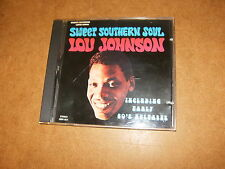 CD (MAR 057) - LOU JOHNSON Sweet southern soul