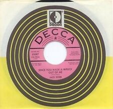 JACK WEBB - SINCE YOU MADE A WRECK OUT OF ME - DECCA 45