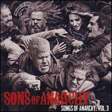 SONGS OF ANARCHY Volume 3 SOUNDTRACK CD ~ KATEY SAGAL~BATTLEME ~ SONS III *NEW*