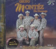 Grupo Montez De Durango Con Sabor A Tamborazo Vol. 1 CD New Nuevo Sealed Sellado