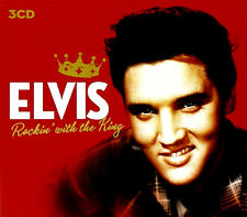 ELVIS PRESLEY ~ ROCKIN' WITH THE KING NEW SEALED 3 CD SET INC CHRISTMAS DISC