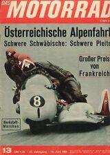 M6513 + Österreichische Alpenfahrt + Das MOTORRAD Nr. 13 vom 19.6.1965