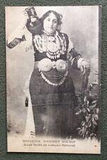 CPA. SOUVENIR D'ORIENT 1914-1918. Jeune SERBE en costume National. 1918.