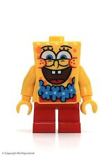 LEGO Spongebob SquarePants Figure - SpongeBob (Blue Lei)  Set 3818