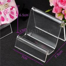 Acrylic Retail Display Aid Phone Case Wallet Handbag Easel Stand Holder Rack New
