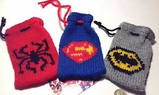 Knitting Pattern Batman Jumper : spiderman jumper knitting pattern eBay