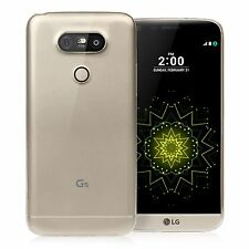 Ultra Slim Transparent Clear Soft Silicone Gel Case Cover Shell For LG G5