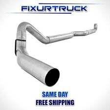 "MBRP 4"" Exhaust For 01-10 Duramax 6.6L LB7, LLY, LBZ,LMM Aluminized No Muffler"