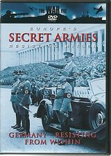 EUROPE'S SECRET ARMIES RESISTING HITLER DVD - GERMANY -  RESISTING FROM WITHIN